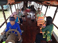 HCMC – CAI BE FLOATING MARKET - TAN PHONG ISLAND (LUNCH)