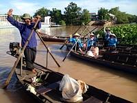 HCMC – CAI BE FLOATING MARKET – CAU XEO RIVER